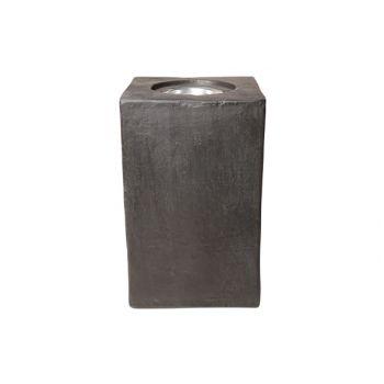 Porte-bougie outdoor ficonstone 25x25x
