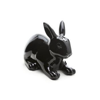Lapin noir outdoor 28.5x16.5xh21.5cm