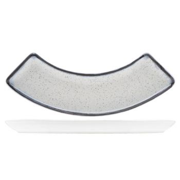 Andromeda plat courbe 19x10cm