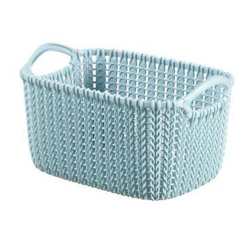 Curver Knit Panier Misty Blue 3L