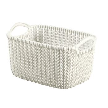 Curver Knit Panier Oasis White 3L