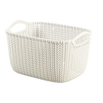 Curver Knit Panier Oasis White 8L