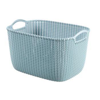 Curver Knit Panier Misty Blue 19L