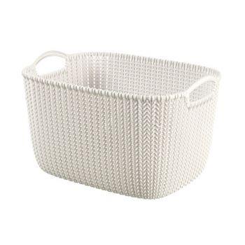 Curver Knit Panier Oasis White 19L