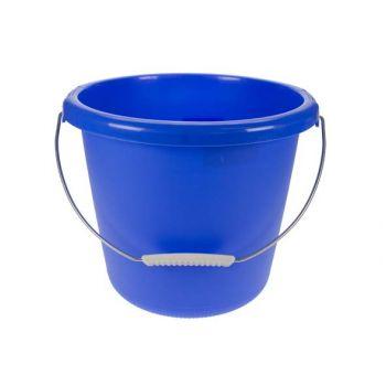 Seau 10l bleu d30xh25cm
