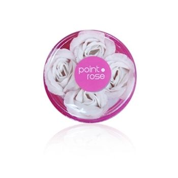 PointRose 036 Savon Rose, Blanc