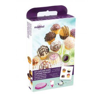 Mastrad Baking en Patisserie Cupcake Pop Mold Giftset