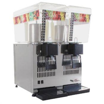 Distributeur de boissons réfrigérées Santos 2x 12L