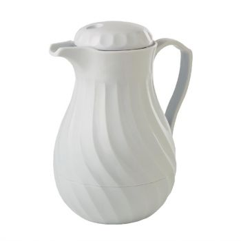 Cafetière isotherme Kinox blanche 1;1L