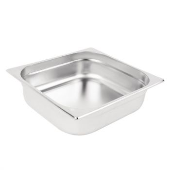 Bac Gastronorme inox GN 2/3 100mm Vogue