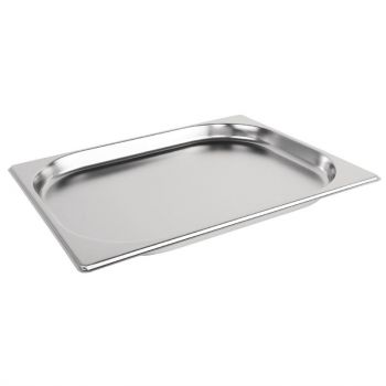Bac Gastronorme inox GN 1/2 20mm Vogue