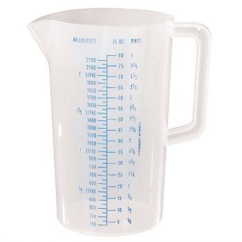 Pichet mesureur gradué