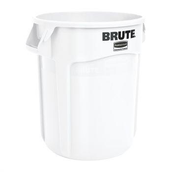 Collecteur Rubbermaid Brute blanc 76L