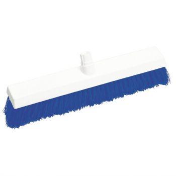 Tête de balai hygiénique à poils durs SYR bleue