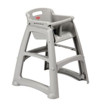 Chaise haute empilable platine Rubbermaid