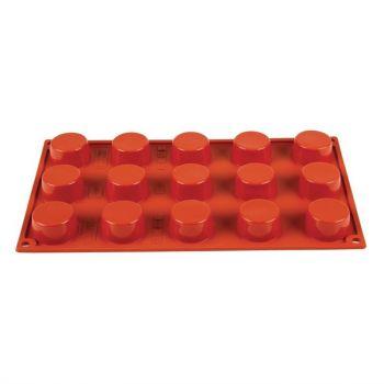 Plaque 15 petits-fours en silicone Pavoni Formaflex