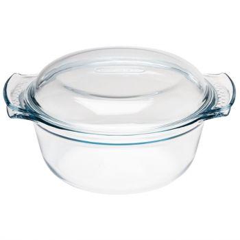 Cocotte ronde en verre Pyrex 3;5L