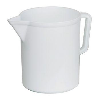 Pot Mesureur Blanc 3 L  Sss