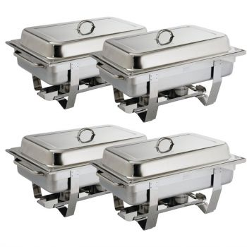 OFFRE GROS VOLUME Chafing dish Milan Olympia GN 1/1 x4