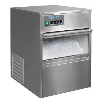 Machine à glaçons dessous de comptoir 20kg Polar Série G