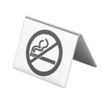 Chevalet de table en inox Olympia non fumeur