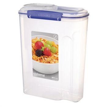 Grande boîte à céréales Sistema 4;2L