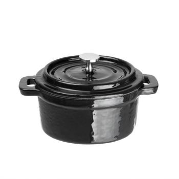 Mini-cocotte ronde en fonte Vogue 10 cm